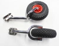 Транцевые колеса с вилкой (усиленные)