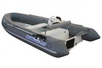 РИБ WinBoat 440R + консоль спорт + рулевое управление + кормовой рундук (RD спорт)