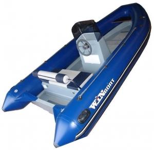РИБ WinBoat 440R + консоль большая палубная + рулевое управление + рундук кормовой (RD2)